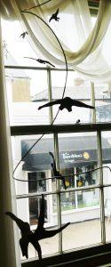 Bird silhoettes